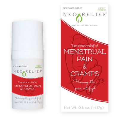 NeoRelief for Menstrual Pain and Cramps Subscription