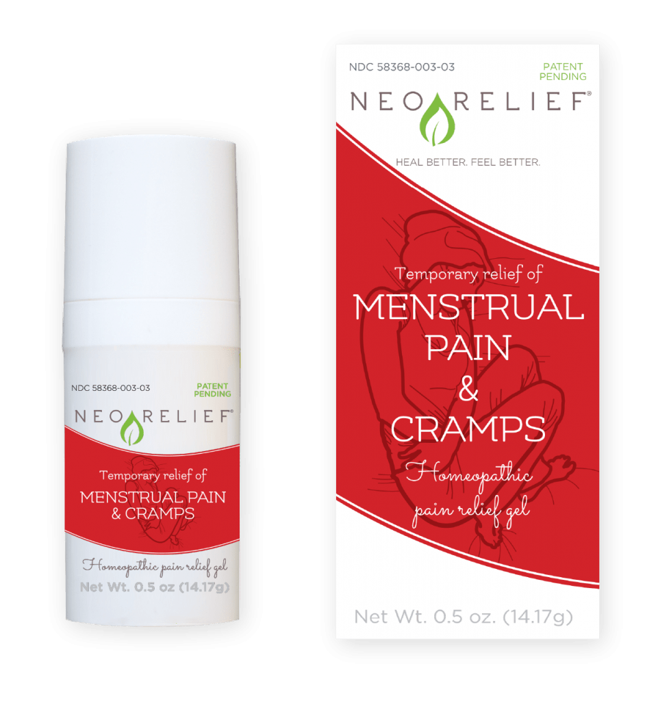 natural menstrual pain relief | neorelief for menstrual pain & cramps