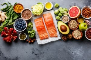 anti-inflammatory foods fresh from the farmers market
