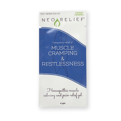 NeoRelief for Muscle Cramping & Restlessness Sample Pack